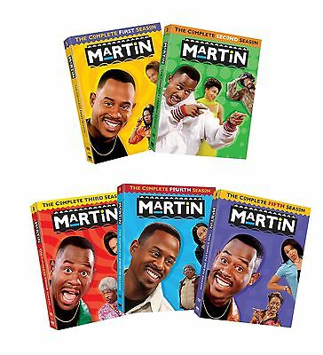 Martin: The Complete Series Seasons 1-5 DVD Format 20 Disc Set Brand New Sealed