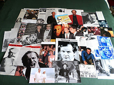 Jack Nicholson - Film Star - Clippings /cutting Pack