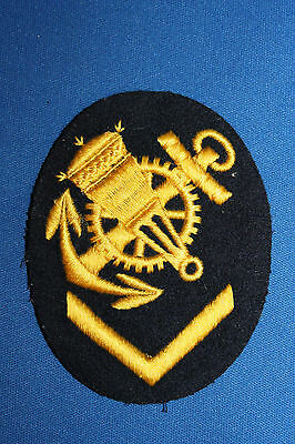 Ww2 German Kriegsmarine (Navy) Blocking Weapons Mechanic Nco Sleeve Insignia