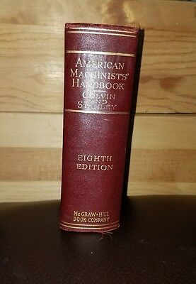 American Machinists' Handbook - 1945 Eighth Edition First Printing