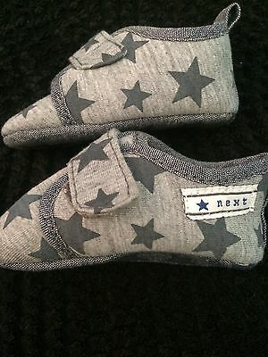Baby Boy Next Star Print Baby Shoes Soft Sole 0-3 Months