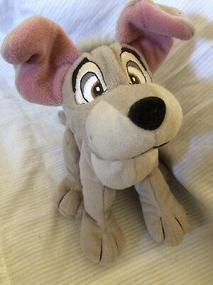 FAB DISNEY *LADY AND THE TRAMP* DOG PLUSH SOFT TOY BEANIE TRAMP New And Unused