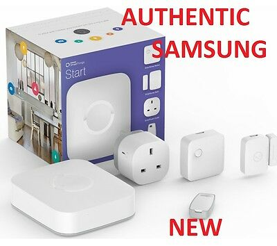 Samsung SmartThings Starter Kit iOS & &roid & Windows Phone Compatible White