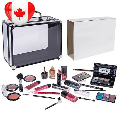 SHANY Cameo Cosmetics Carry All Trunk Makeup Kit with Reusable Aluminum Case...
