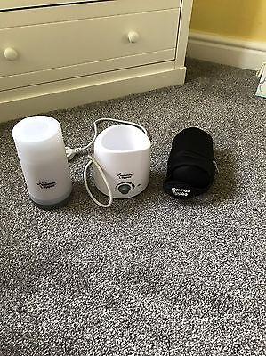 Tommee Tippee Electric Bottle Warmer And Mobile Travel Bottle Warmer