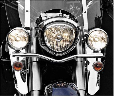 National Cycle Light Bar Chrome N946