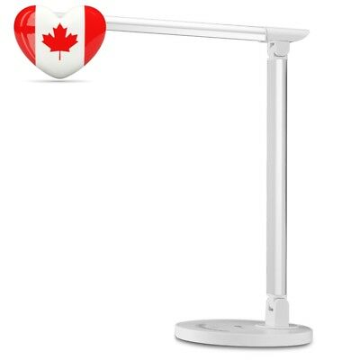 Desk Lamp, TaoTronics LED Table Lamp with USB Charging Port, Eye-Care Touch...