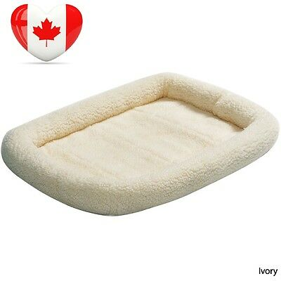 Midwest Quiet Time Pet Bed, 22-Inch x 13-Inch, Fleece