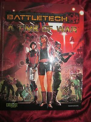 BATTLETECH - A TIME OF WAR. The Battletech RPG. Mecha. Highly rated game