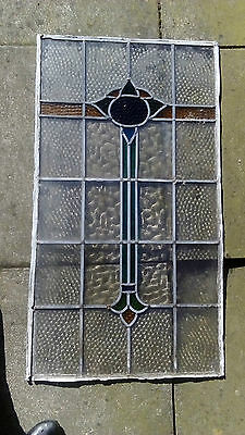 Vintage Stained Glass Windows - Set Of 3