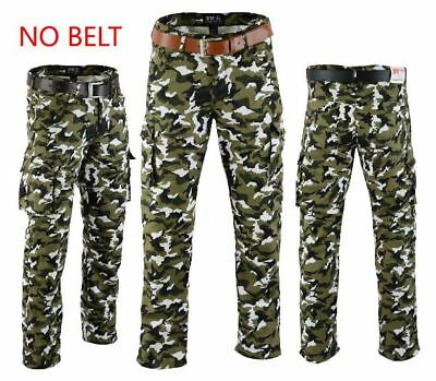 Motorbike Motorcycle Camo Cargo Trousers Pant With 6 pockets ce proved armours
