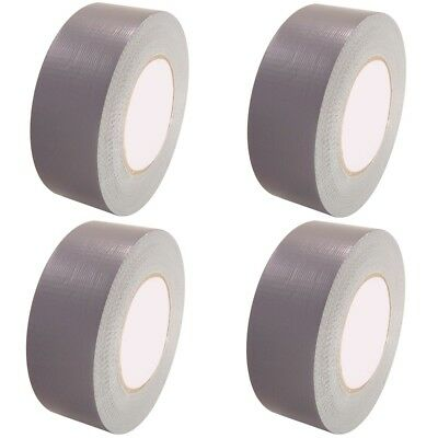 Strong Duck Duct Gaffa Gaffer Cloth Waterproof Silver Tape Rolls  50Mm X 50M