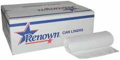 Renown Liner15Gl .45Mil White 24 In X32 In 50/Roll 10/CS