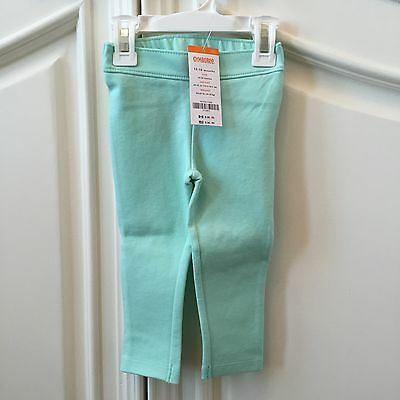 Gymboree Baby Girl Teal Pants Jeggings Size 12-18 Months