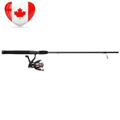 Ugly Stik Shakespeare GX2 Spinning Rod Combo, 6-Feet/Medium