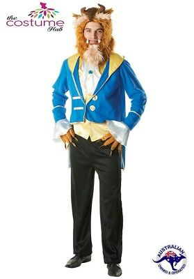 Mens Beast Disney Beauty And The Beast Licensed Fancy Dress Adult Costume