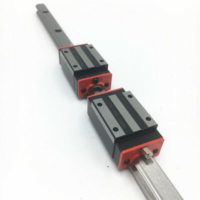 HGR15 Linear Rail Guide L1800mm & 2pc HGH15CA Rail Block Replacement for HIWIN