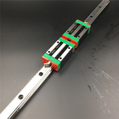 HGR20 Linear Rail Guide l-500mm&2pc HGH20CA Rail Block Replacement for HIWIN