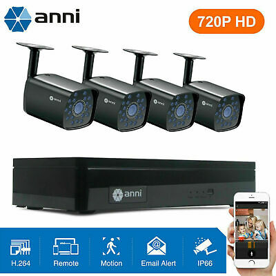 ELEC 4CH 1500TVL 960H HDMI DVR CCTV Outdoor Night Vision Security Camera System