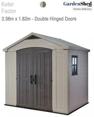 Keter Factor 86 2.56m x 1.82m - FREE HOME DELIVERY
