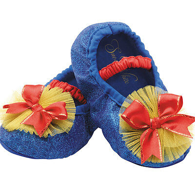Toddler Snow White Halloween Costume Slippers