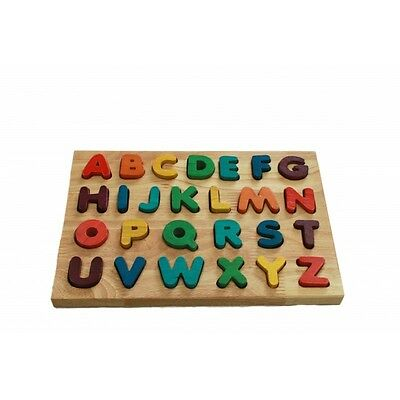 Wooden Educational Toys - Letter Puzzle - 100 % Brand new - Safe Materials