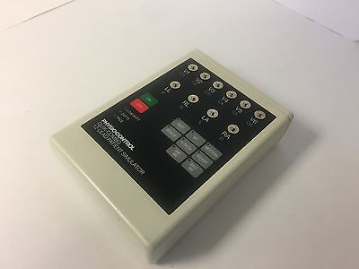 Physio-Control Quik Combo 12-Lead Patient Simulator/TESTED 806395-1