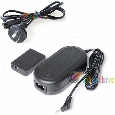 AC Power Adapter Charger ACK-E12 + DR-E12 DC Coupler For Canon EOS M M2 Camera