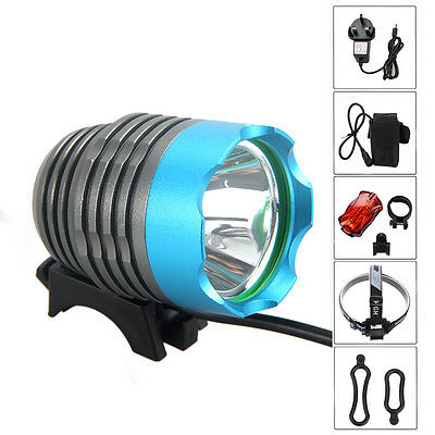5000Lm XM-L T6 LED Rechargeable Bycicle Light Headlamp Headlight Bike Lamp Torch