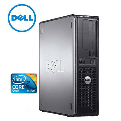 Dell Optiplex 780 SFF, Intel Core Q8200, 4GB RAM,  250GB HDD, DVD-RW, ohne OS