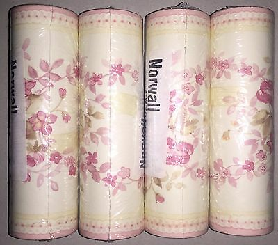 Cathy's Garden 3 Floral Wall Paper Border cn79413 Norwall