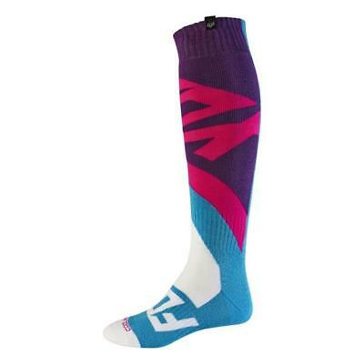 Fox 2017 Herren Motocross / MTB Socken - CREO COOLMAX THICK - teal Motocross End