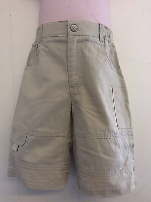 Lovely Stone 100% Cotton Cargo Trousers from Hamilton Age 2 or 3 Yrs - BNWT!!