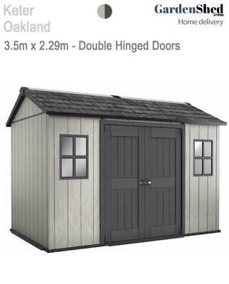 Keter Oakland 1175 3.5m x 2.29m - FREE HOME DELIVERY