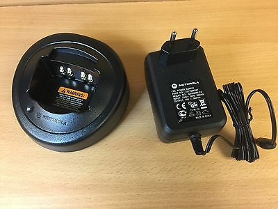 Motorola Single Unit Charger HTN9000C & EPNN5752B EU plug