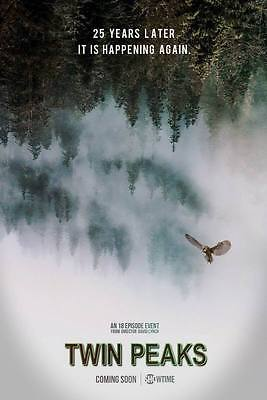 """10440 Hot Movie TV Shows - Twin Peaks 2017 6 14""""x20"""" Poster"""
