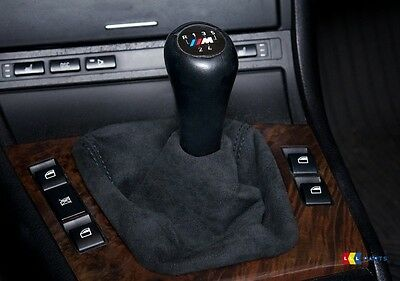 Bmw 3 Series E46 New Genuine Alcantara Shift Gear Boot Gearstick Sleeve 7919219