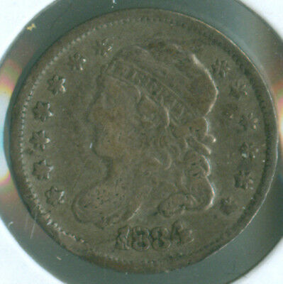 1834 Capped Bust Silver Half Dime (1620533)