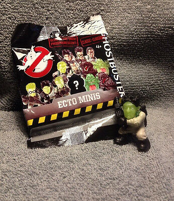 Ghostbusters 2016 Ecto Minis: Classic Ray Stantz Glow In The Dark Figure