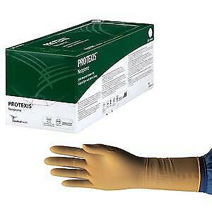 Protexis Neoprene Surgical Glove, Powder-Free, Sterile, Size 6.5 -Box of 50 NEW!