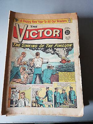 VICTOR COMIC No. 150-201 from 1964 COMPLETE YEAR
