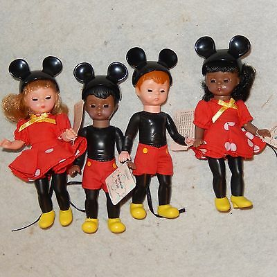 Madame Alexander Disney McDonalds Doll Mickey Mouse Wendy Mousketeer Black Set