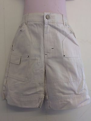 Lovely Beige 100% Cotton Trousers Long Shorts from Hamilton - Age 2 years  BNWT!