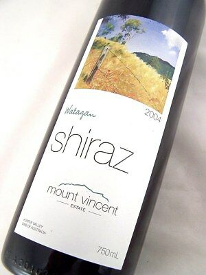 2004 Mt VINCENT Watagun Shiraz Isle of Wine