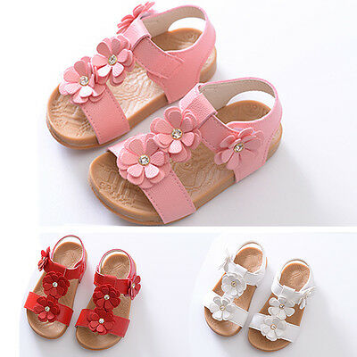 Kids Girl Shoe Baby Girls Infants Party Sandal Sandals Footholds Walking Shoes