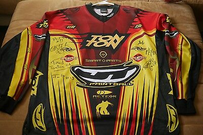 Signed: Toulouse TonTon paintball rare/vintage jersey NPPL Super 7 event 4 2004