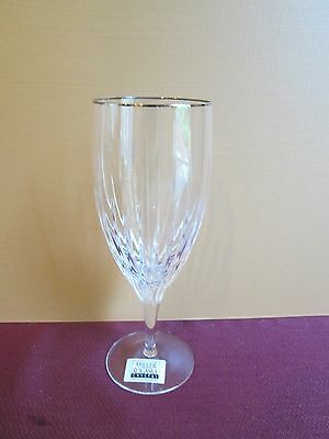 "Rogaska Soho Platinum Iced Tea/ Iced Beverage  Glass- 8"" - New- 0209F"