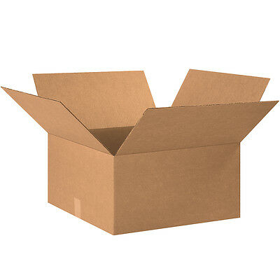 "Box Partners Corrugated Boxes 20"" x 20"" x 10"" Kraft 15/Bundle 202010"