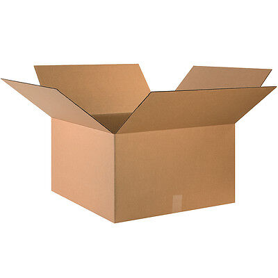 "Box Partners Corrugated Boxes 24"" x 24"" x 14"" Kraft 10/Bundle 242414"