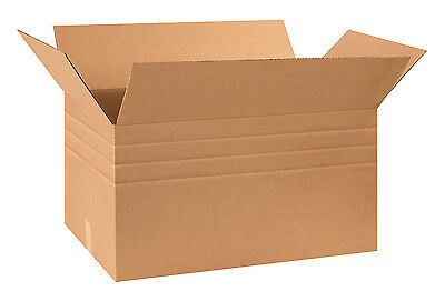 "Box Partners Multi-Depth Corrugated Boxes 30"" x 17"" x 16"" Kraft 15/Bundle"
